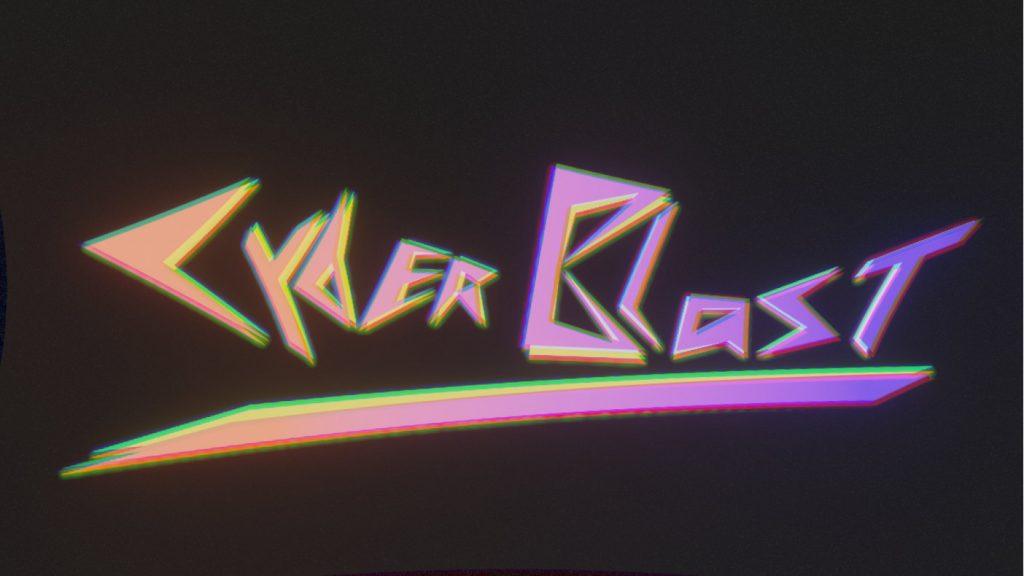 Das Logo vom Film Cyber Blast