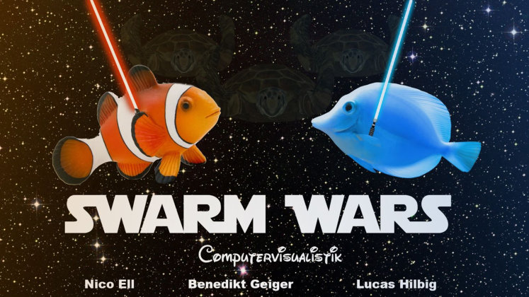 Das Lgoo des Projekts Swarm Wars