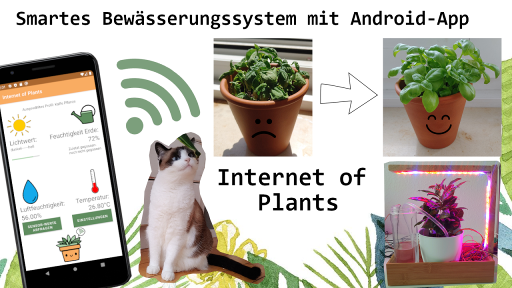 Logo zum Projekt Internet of Plants