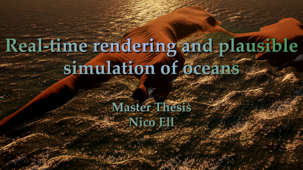 Logo zum Projekt Real-time rendering and plausible simulation of oceans